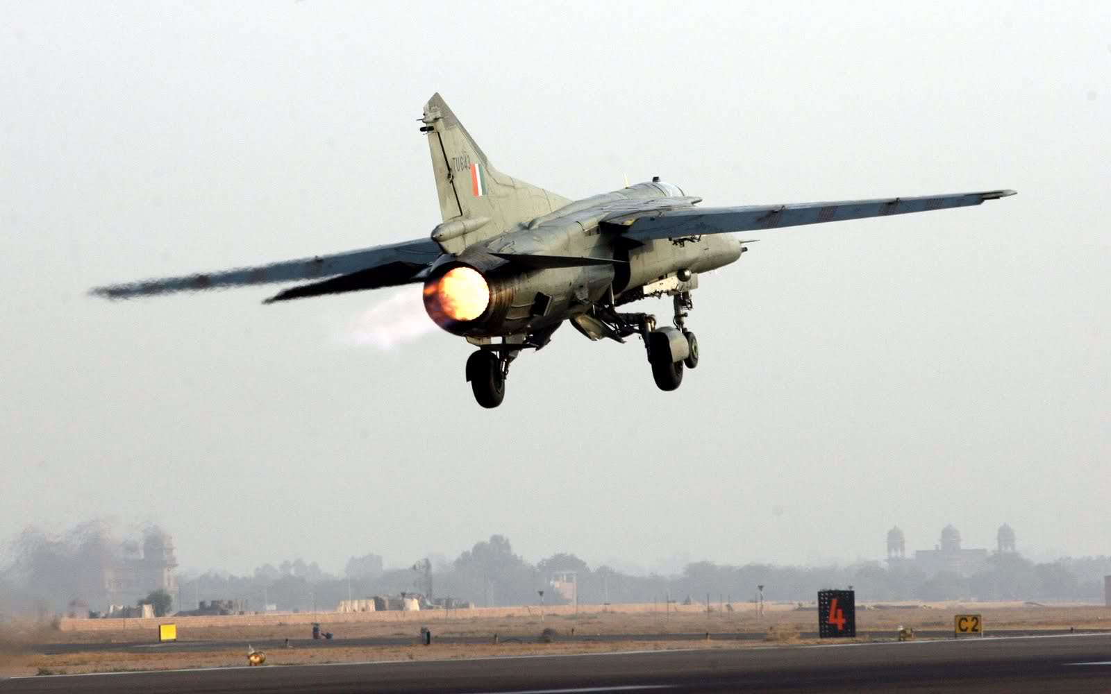 میگ 27 UPG - سقوط یک طیاره نظامی در هند
