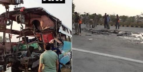 هند تصادف - تصادف خونین در شاهراهی در اوتار پرادش هند