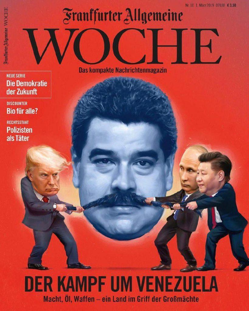 ونزویلا 819x1024 - تصویر/ جنگ بر سر ونزویلا!