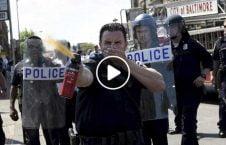 ویدیو اشتباه پولیس بلغاریا تظاهرات 226x145 - ویدیو/ اشتباه عجیب پولیس بلغاریا هنگام برگزاری تظاهرات
