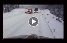 ویدیو تصادف مرگبار موتر جاده برف 226x145 - ویدیو/ تصادف مرگبار دو موتر در جاده برفی