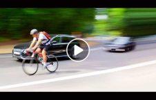ویدیو راننده دیوانه بایسکل سوار سرک 226x145 - ویدیو/ رفتار عجیب راننده دیوانه با بایسکل سوار در سرک