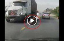 ویدیو شجاعانه مادر نجات فرزند 226x145 - ویدیو/ حرکت شجاعانه مادر برای نجات فرزند اش