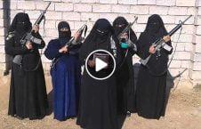 ویدیو صحنه وحشیگری زنان داعشی 226x145 - ویدیو/ صحنه هایی از وحشیگری زنان داعشی