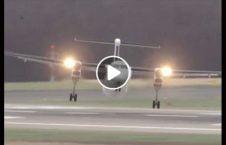 ویدیو هیجان نبرد طیاره طوفان 226x145 - ویدیو/ لحظات هیجان انگیز نبرد طیاره با طوفان