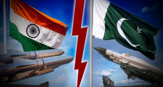 پاکستان هند 550x295 - هند و پاکستان در یک قدمی جنگ هستوی
