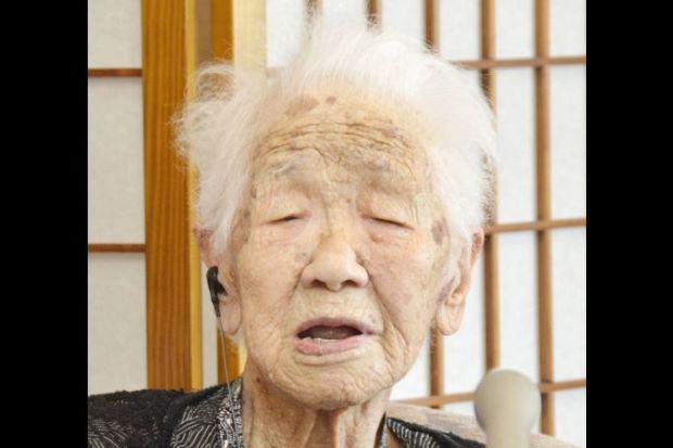 کانه تاناکا 2 - تصویر/ پیر ترین زن جهان