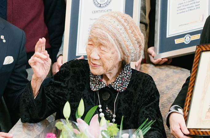 کانه تاناکا - تصویر/ پیر ترین زن جهان