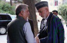 کرزی عبدالله 226x145 - بررسی مذاکرات صلح در دیدار حامد کرزی و عبدالله عبدالله