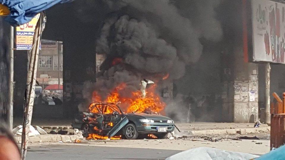 کوته سنگی 1 - تصاویر اولیه از انفجار در کوته سنگی کابل