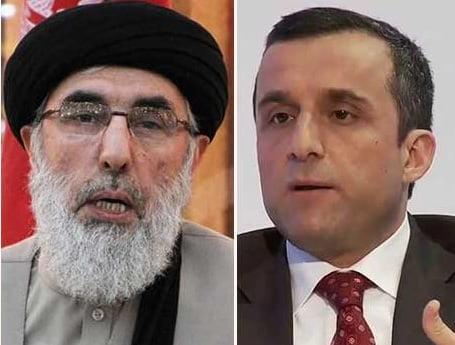 گلبدین حکمتیار امرالله صالح - گلبدین حکمتیار: امرالله صالح بی دین است!