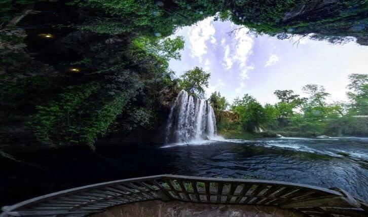 آبشارهای دودن1 - تصاویر/ آبشارهای زیبای دودن در ترکیه