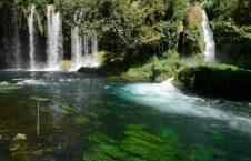 آبشارهای دودن4 226x145 - تصاویر/ آبشارهای زیبای دودن در ترکیه