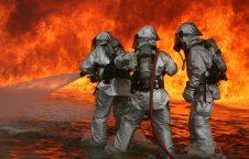 آتش 226x145 - وقوع یک آتش سوزی در پایتخت روسیه