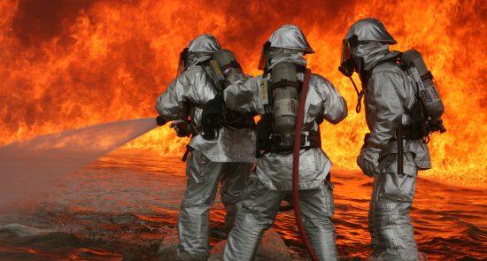 آتش 550x295 - وقوع یک آتش سوزی در پایتخت روسیه