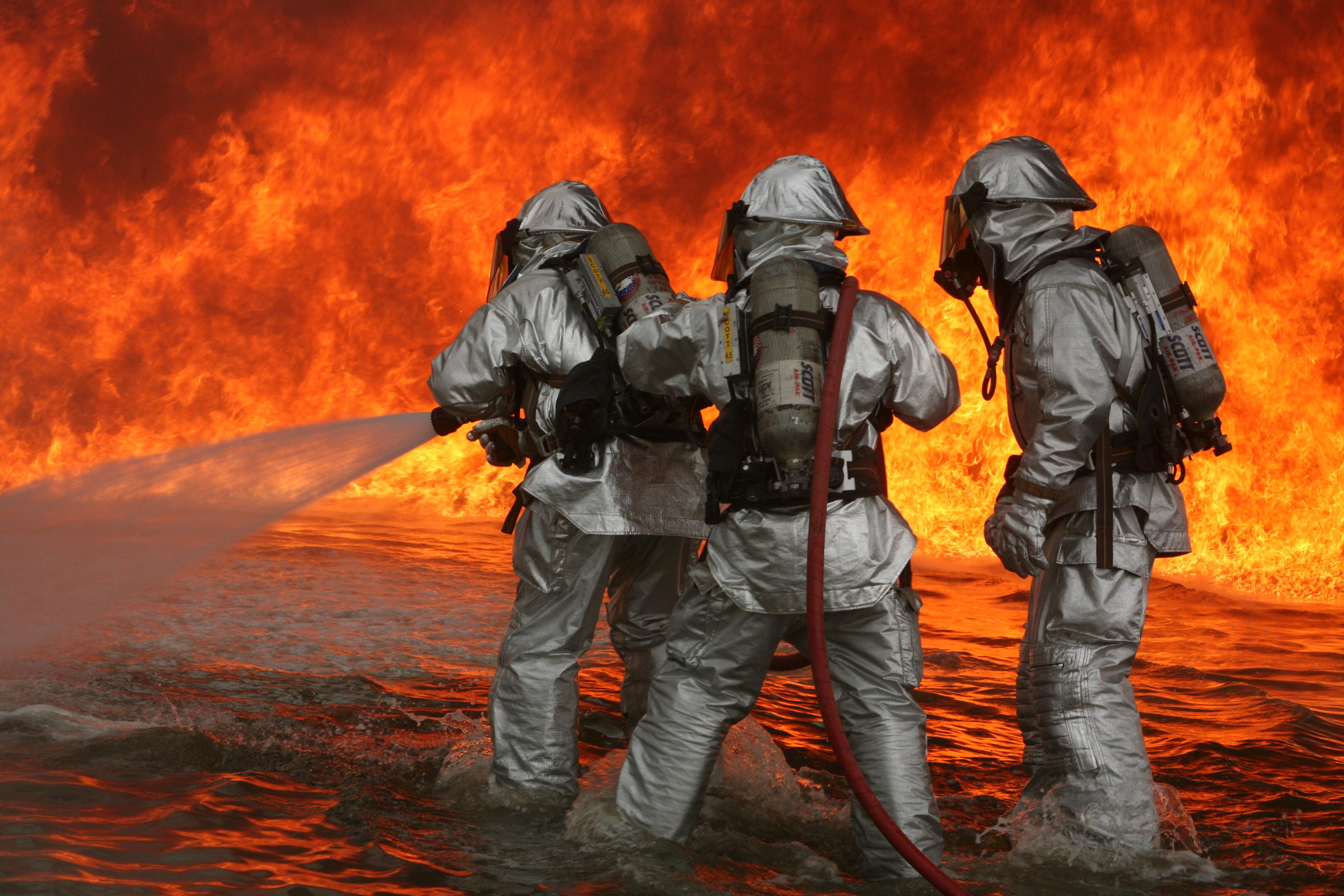 آتش - وقوع یک آتش سوزی در پایتخت روسیه