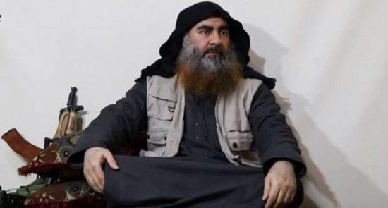 ابوبکر البغدادی 550x295 - فرد نزدیک به ابوبکر البغدادی دستگیر شد