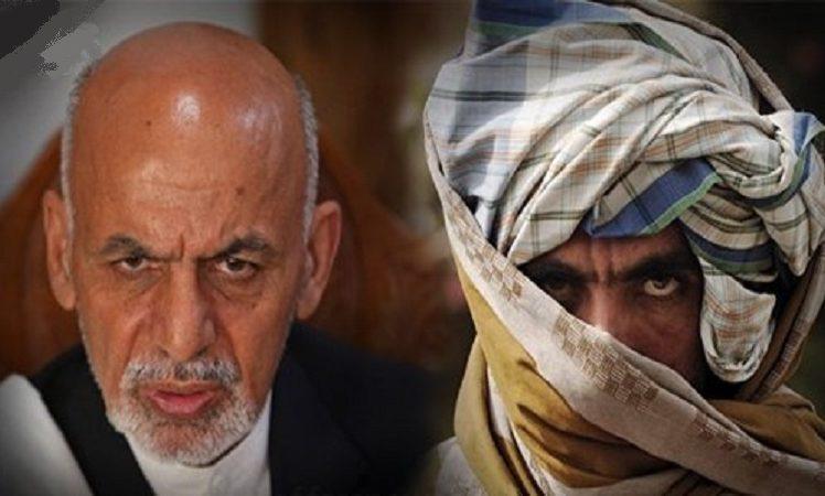 اشرف غنی طالبان 1 - دو شرط اشرف غنی برای سازش با طالبان