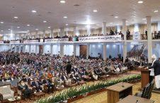 اشرف غنی 2 226x145 - مشروح سخنان رییس جمهور غنی در مراسم افتتاح لویه جرگه مشورتی صلح