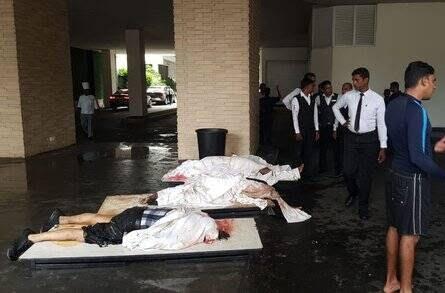 انفجار مرگبار سریلانکا 2 - تصاویر/ وقوع ۶ انفجار مرگبار در سریلانکا