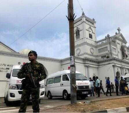 انفجار مرگبار سریلانکا 7 - تصاویر/ وقوع ۶ انفجار مرگبار در سریلانکا