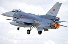 ترکیه طیاره 226x145 - عملیات نظامی طیارات جنگی ترکیه در شمال عراق