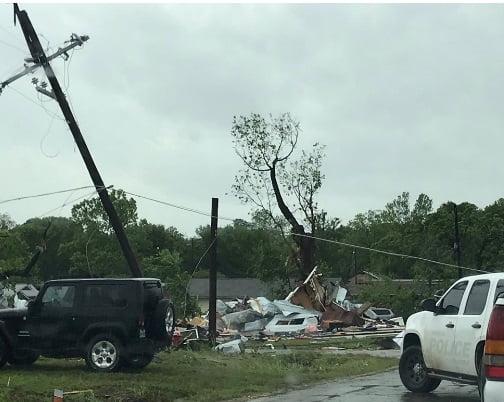 توفان امریکا4 - تصاویر/ وقوع توفان سهمگین در جنوب امریکا