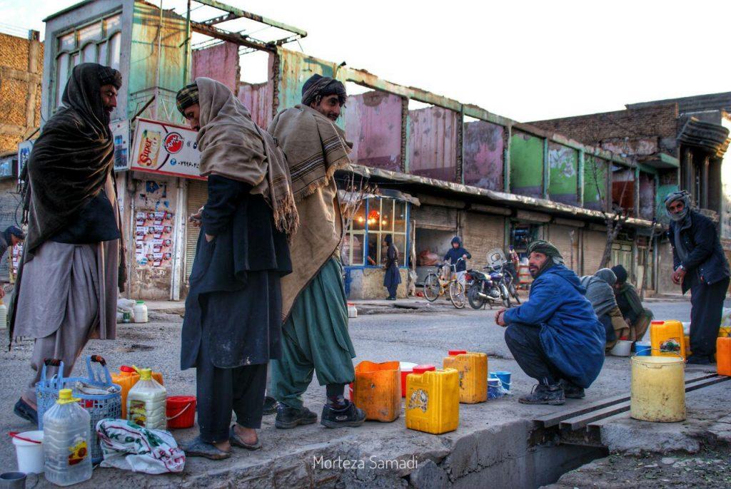 جاده ارزاق  1024x686 - تصویر/ جاده ماست فروشان در هرات