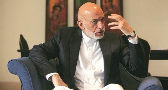 حامد کرزی 550x295 - توصیه رییس جمهور پیشین به طالبان؛ کرزی: افغانستان را از جهان جدا نکنید