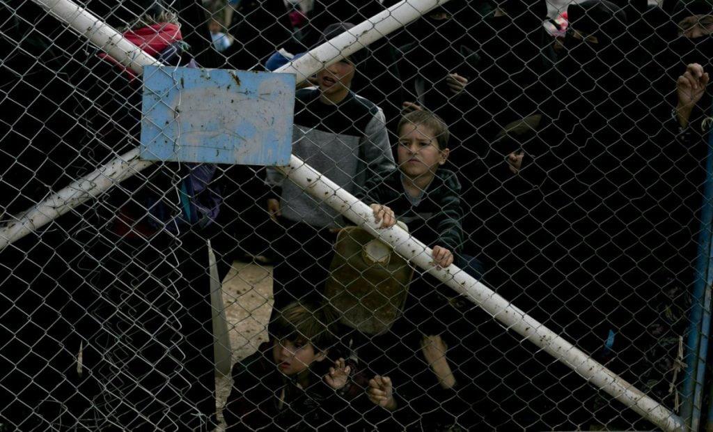 داعش 1 1024x620 - تصاویر/ نگهداری زنان و اطفال داعش در شمال سوریه