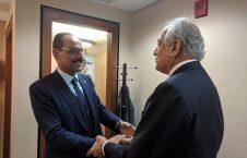 زلمی خلیلزاد ابراهیم کالین2 226x145 - قدردانی خلیلزاد از تعهدات ترکیه برای حمایت از روند صلح در افغانستان