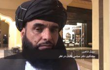 سهیل شاهین 226x145 - شرط و شروط سخنگوی طالبان برای آغاز گفتگوهای بین الافغانی