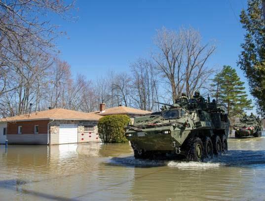 سیلاب در کانادا 11 - تصاویر/ جاری شدن سیلاب در کانادا
