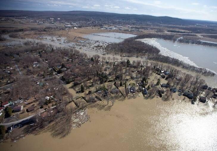 سیلاب در کانادا 5 - تصاویر/ جاری شدن سیلاب در کانادا