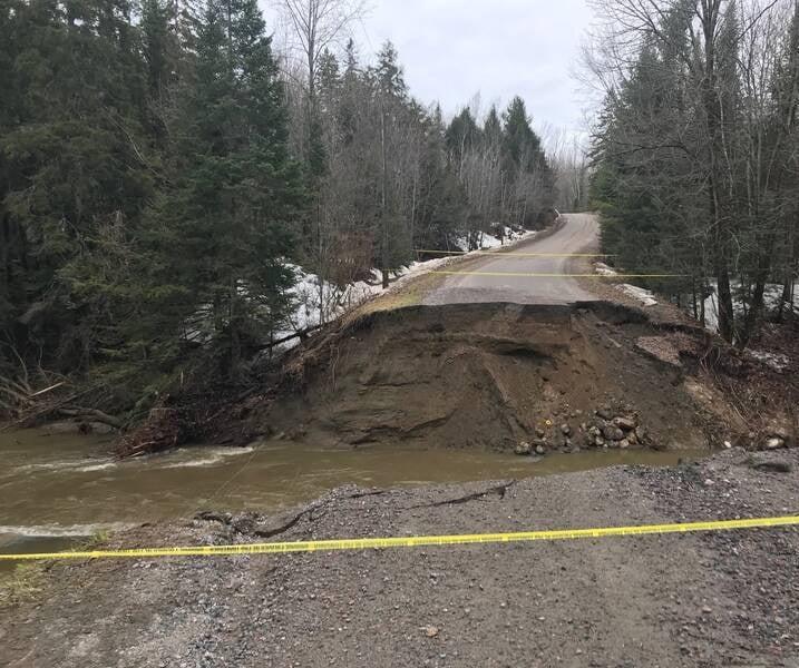 سیلاب در کانادا 7 - تصاویر/ جاری شدن سیلاب در کانادا