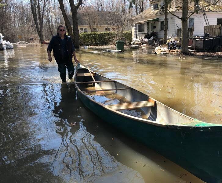 سیلاب در کانادا 9 - تصاویر/ جاری شدن سیلاب در کانادا