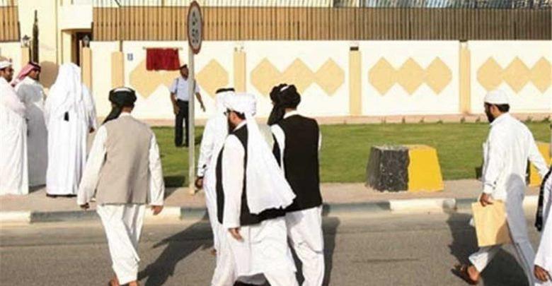 طالبان 1 - زنان نیز در هیات طالبان در دوحه استند!