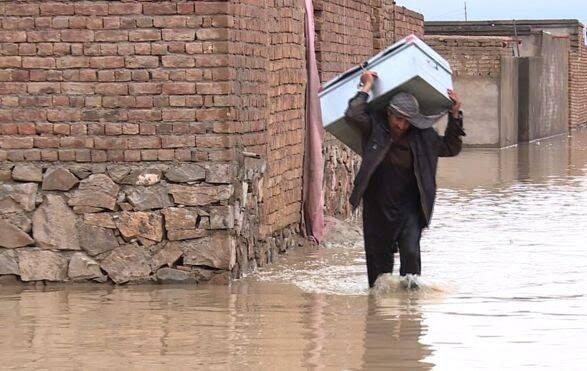 طغیان رود کابل 10 - تصاویر/ طغیان رودخانه ها در کابل