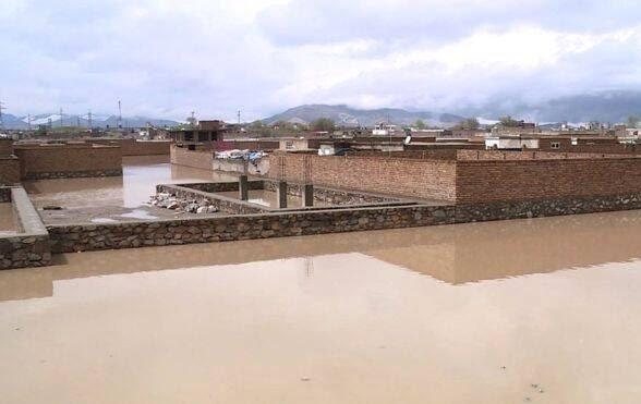 طغیان رود کابل 11 - تصاویر/ طغیان رودخانه ها در کابل