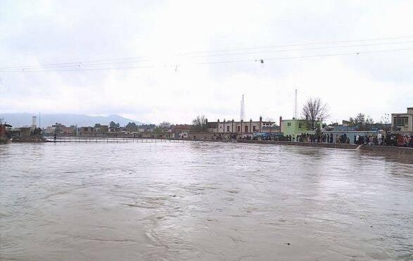طغیان رود کابل 3 - تصاویر/ طغیان رودخانه ها در کابل