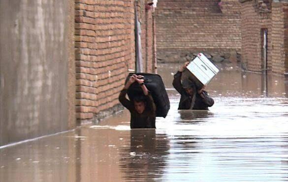 طغیان رود کابل 5 - تصاویر/ طغیان رودخانه ها در کابل