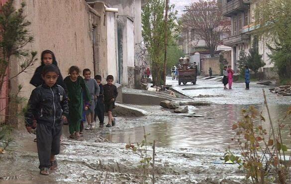 طغیان رود کابل 9 - تصاویر/ طغیان رودخانه ها در کابل
