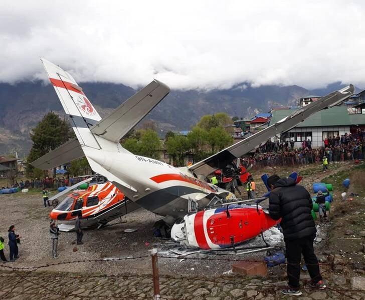 طیاره 3 - تصاویر/ برخورد مرگبار یک طیاره با چرخبال