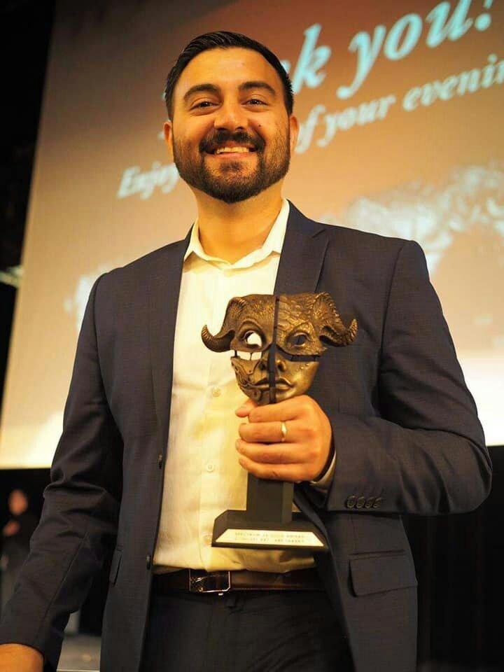 عبدالله تره کی - کسب مجسمه طلایی سپیکتروم توسط یک هنرمند افغان