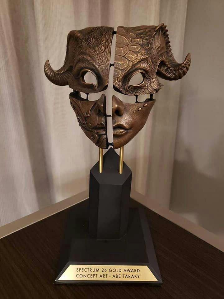 عبدالله تره کی3 - کسب مجسمه طلایی سپیکتروم توسط یک هنرمند افغان