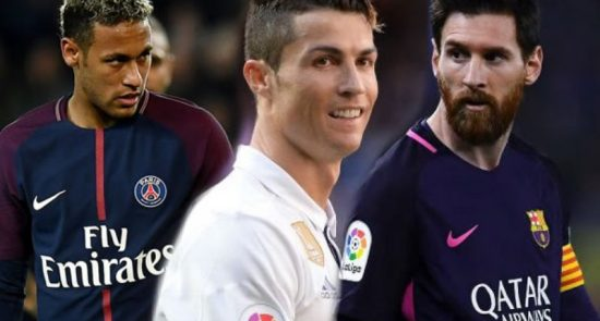 فوتبال 1 550x295 - پردرآمدترین بازیکنان فوتبال جهان + جدول