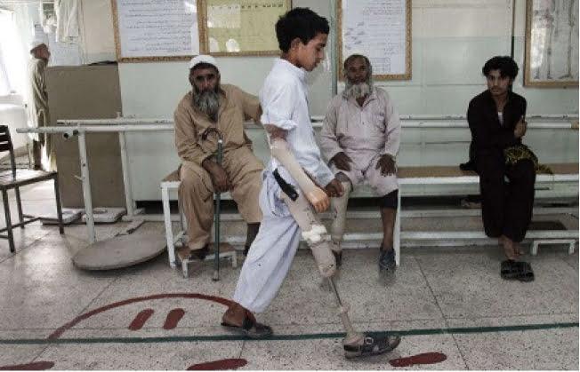 ماین 1 - تصاویر/ اطفال بیشترین قربانیان ماین در افغانستان