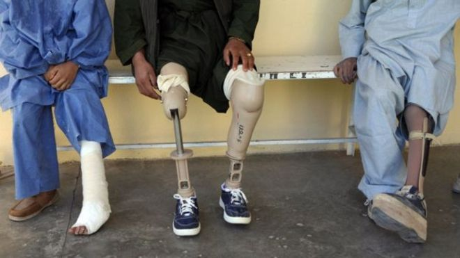 ماین 2 - تصاویر/ اطفال بیشترین قربانیان ماین در افغانستان