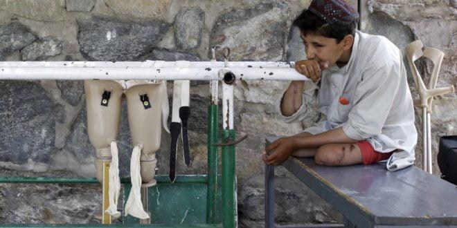 ماین 4 - تصاویر/ اطفال بیشترین قربانیان ماین در افغانستان