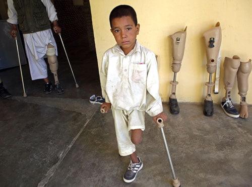 ماین 6 - تصاویر/ اطفال بیشترین قربانیان ماین در افغانستان